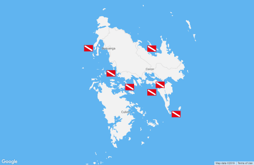 Map of Coron - Busuanga